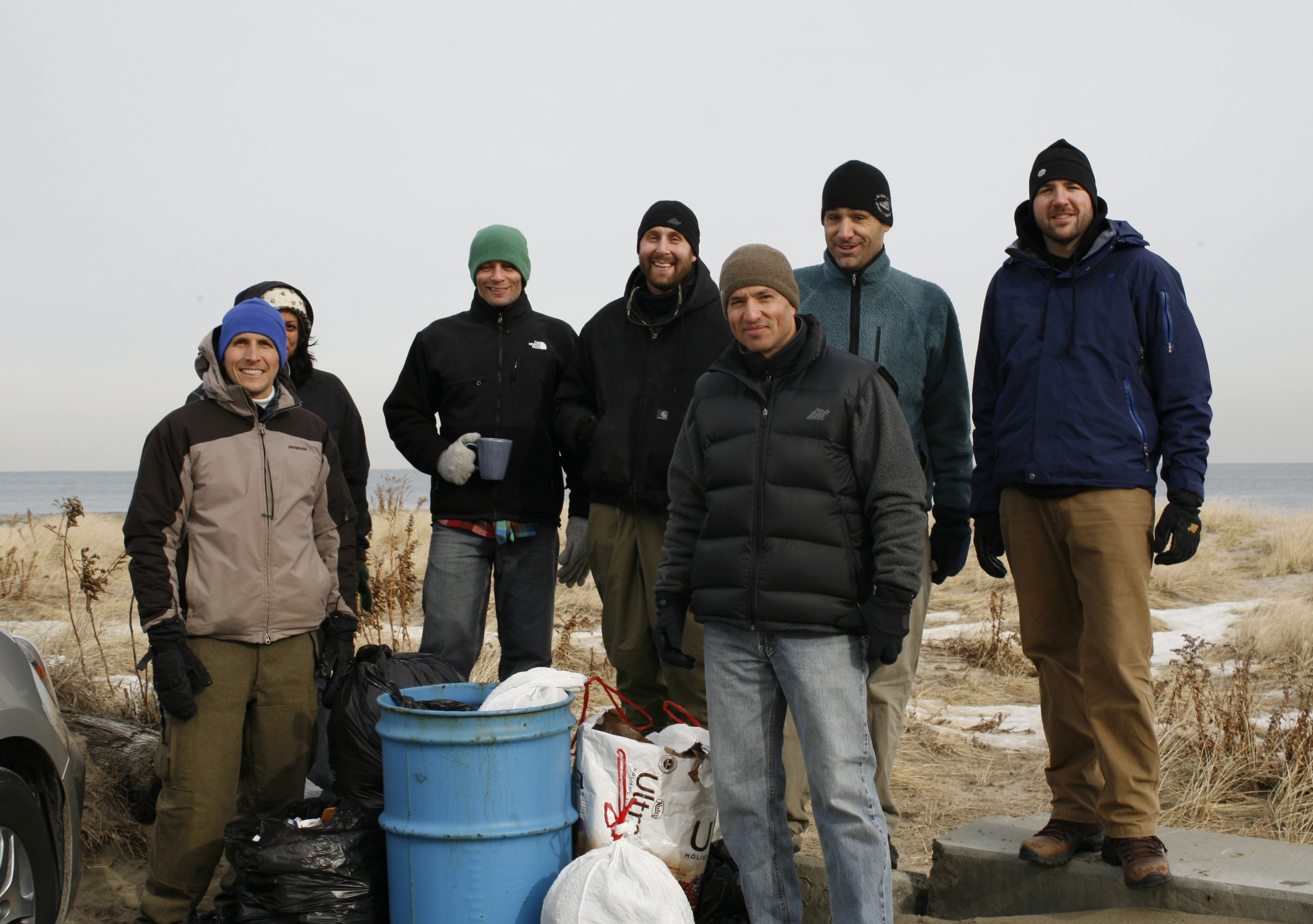 Surfrider Volunteers Cleanup Asbury Beach