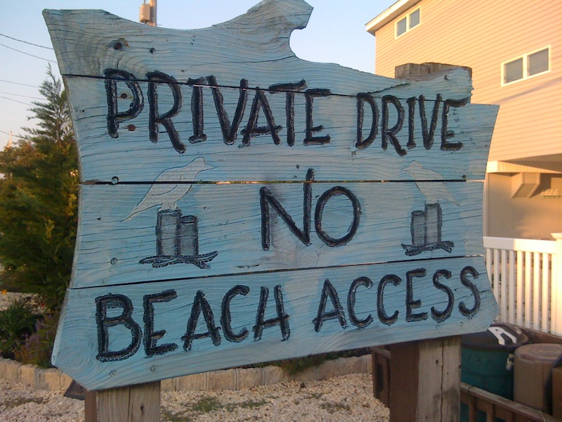 No Beach Access Photo 3 low res