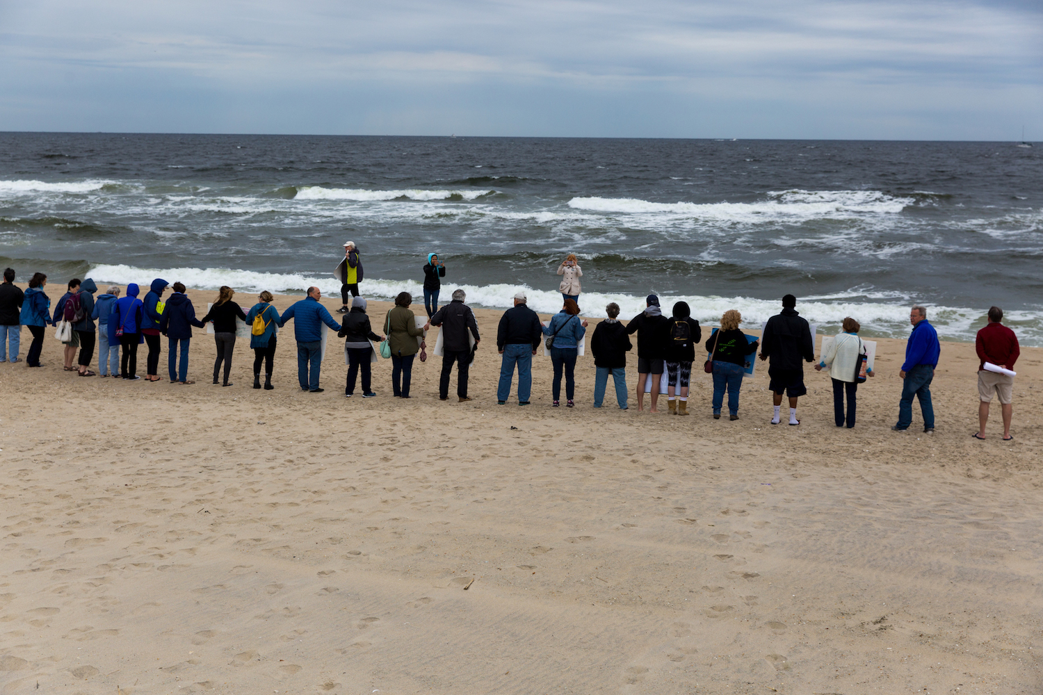 Hands Across the Sand Sends a Message on Offshore Drilling