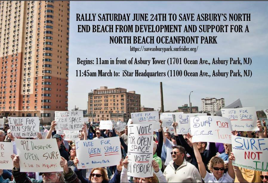 Rally to Save AP's North End Beach!