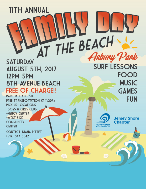 Asbury Park Family Day Announced! Volunteers Needed!