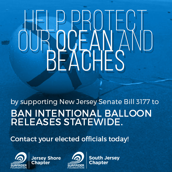 Ban Intentional Balloon Releases in NJ