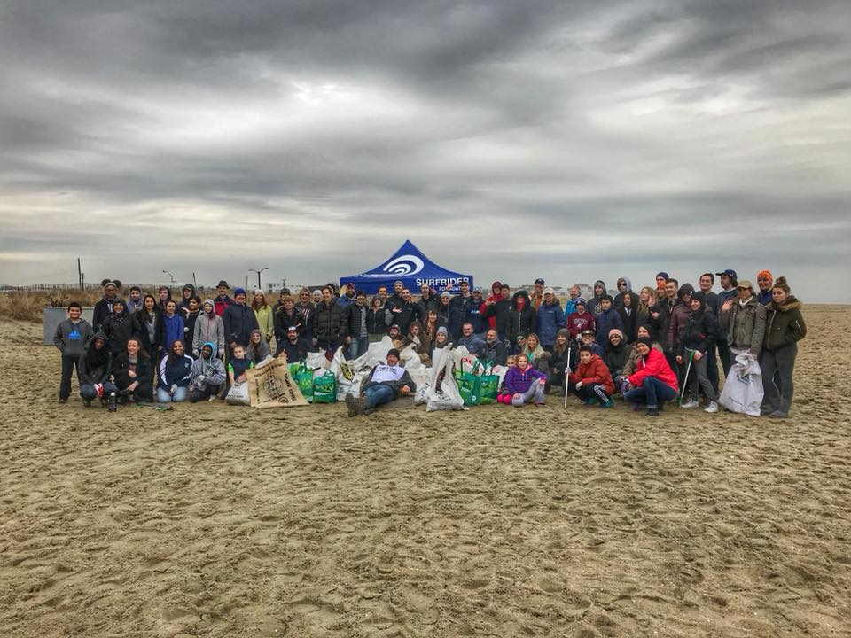 Asbury North Beach Winter Cleanup Success!
