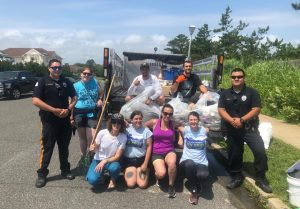 Emergency Cleanup Nets 100 Lbs. of Trash