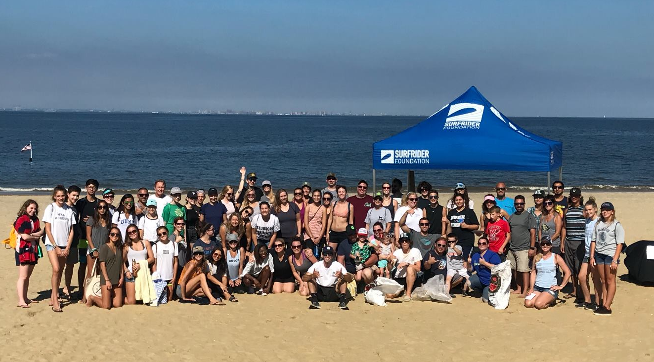 Over 100 Volunteers Clean 1,240 lbs of Trash on Ideal Beach!
