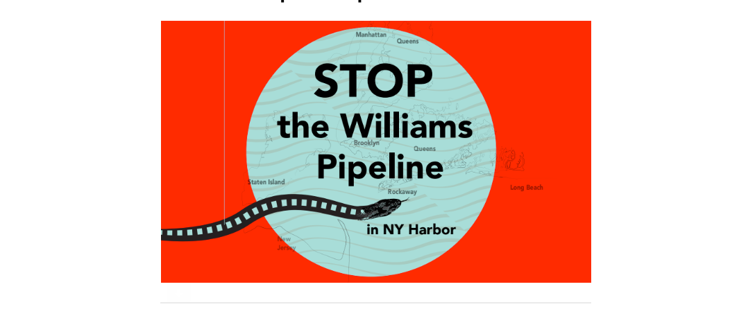 No Ocean Dumping of Pipeline-Related Dredging Waste!